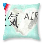 Elements Of Love Air Throw Pillow