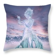 Elements - Water Throw Pillow