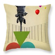 Elephant 3 Throw Pillow