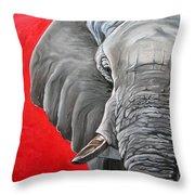 Elephant Throw Pillow