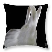 Elephant In The Dark Throw Pillow