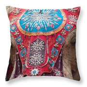 Elephant Mechanical Throw Pillow