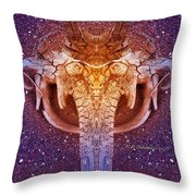 Elephunk Throw Pillow