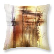 Elevate With Message  Throw Pillow