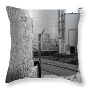 Study In Time Throw Pillow