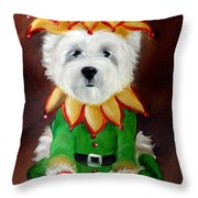 Elf Throw Pillow