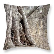 Elf House Throw Pillow