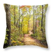 Elfin Forest Throw Pillow