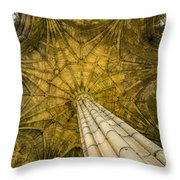 Elgin Cathedral Community - 21 Throw Pillow by Paul Cannon