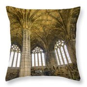 Elgin Cathedral Community - 22 Throw Pillow by Paul Cannon
