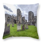 Elgin Cathedral Community - 3 Throw Pillow