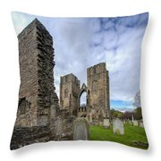 Elgin Cathedral Community - 5 Throw Pillow
