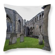 Elgin Cathedral Community - 6 Throw Pillow