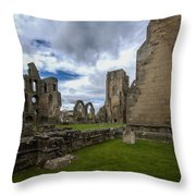 Elgin Cathedral Community - 7 Throw Pillow