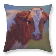 Eli Throw Pillow by Susan Williamson
