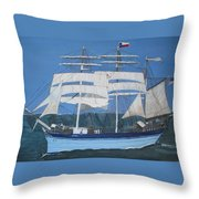 Elissa The Ship Throw Pillow
