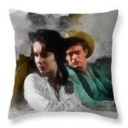 Elizabeth And James - Giant Throw Pillow