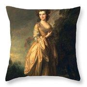 Elizabeth Beaufoy, Later Elizabeth Throw Pillow
