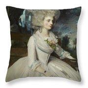 Elizabeth Countess Of Warwick Throw Pillow