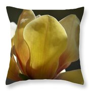 Elizabeth Magnolia Throw Pillow