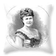 Elizabeth Of Romania (1843-1916) Throw Pillow