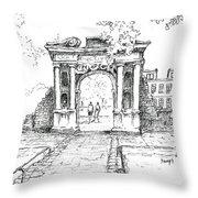 Elizabeth's Gate Throw Pillow