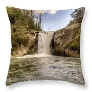 Elk Creek Falls 31 Throw Pillow