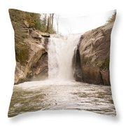 Elk Creek Falls 34 Throw Pillow