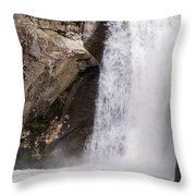 Elk Creek Falls 35 Throw Pillow