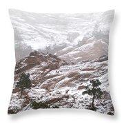 Elk Mountain Throw Pillow