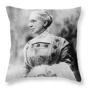 Ella Flagg Young (1845-1918) Throw Pillow