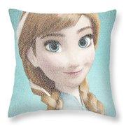 Anna Song Mosaic Throw Pillow