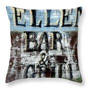 Ellen's Place Throw Pillow
