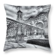 Ellis Island Immigration Museum IIi Throw Pillow