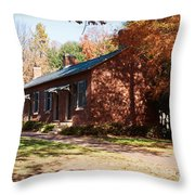 Elm Offices - Davidson College Throw Pillow