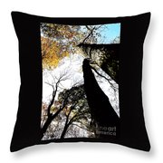 Elora Trees II Throw Pillow