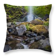 Elowah Falls Throw Pillow