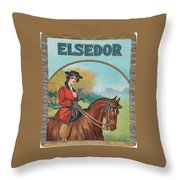 Elsedor Throw Pillow