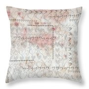 Elusive Love Throw Pillow