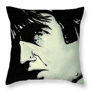 Elvis.     The King Throw Pillow