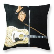 Elvis 1956 Throw Pillow