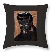 Elvis Art Throw Pillow