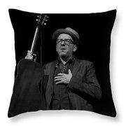 Elvis Costello Throw Pillow