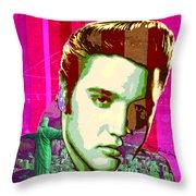 Elvis In Rio Throw Pillow