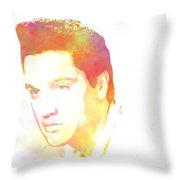 Elvis Presley - 6 Throw Pillow