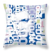 Elvis Presley On Facebook Throw Pillow
