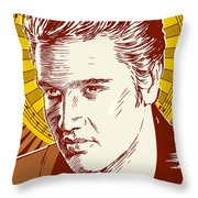 Elvis Presley Pop Art Throw Pillow
