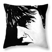 Elvis The Show Must Go On Throw Pillow
