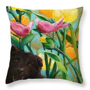 Ely Angel Throw Pillow