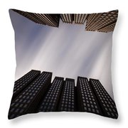 Emb 41 Throw Pillow